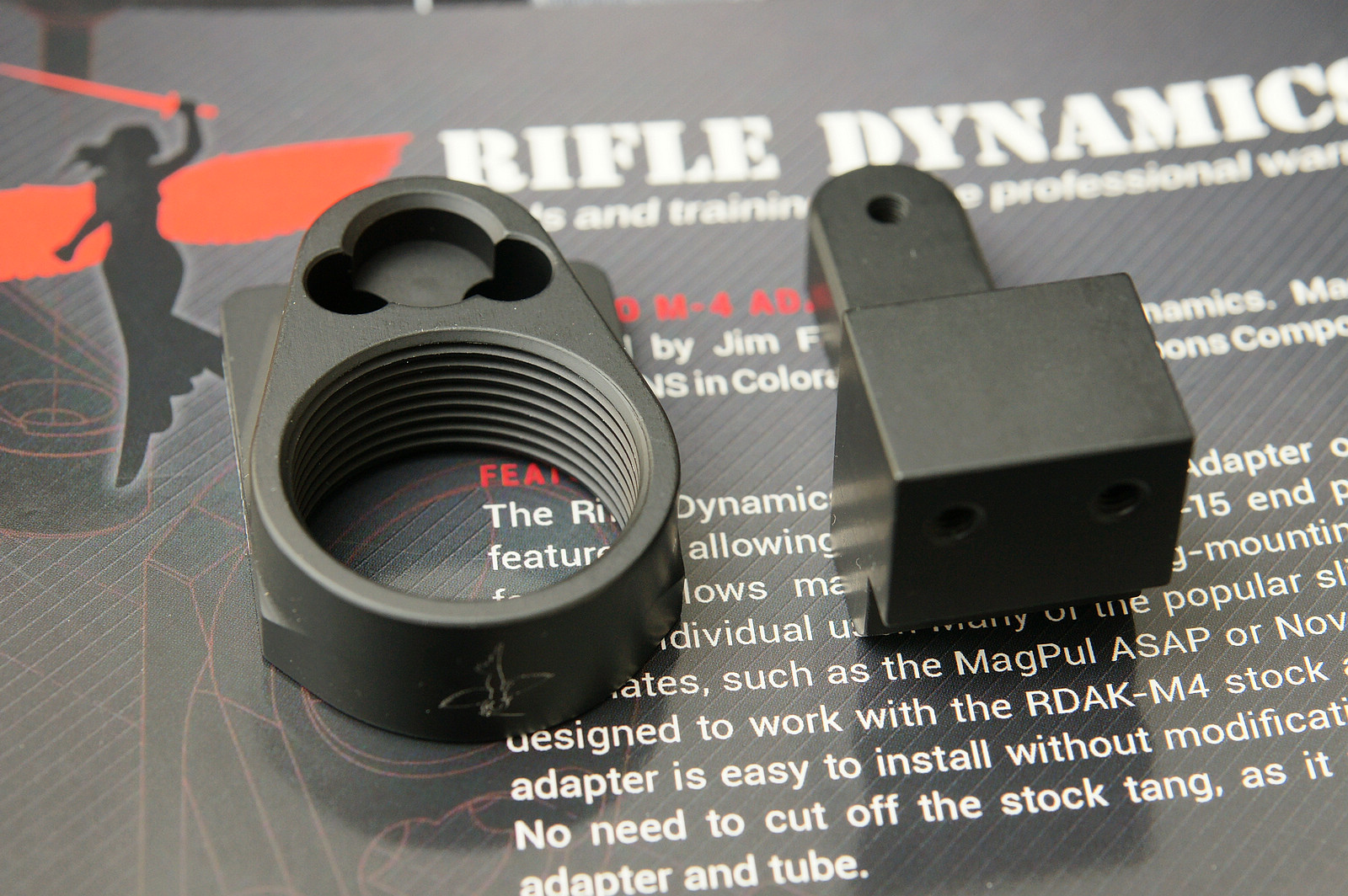 Rifle Dynamics RDAK-M-4 Stock Adapter for AK - 舞刀弄枪枪友会